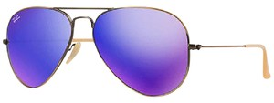 Ray-Ban Ray-Ban Violet Mirror Unisex Sunglasses- RB3025 167-1M