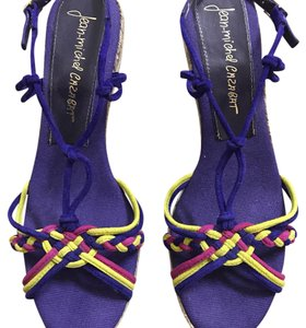 Jean-Michel Cazabat Purple multi Wedges