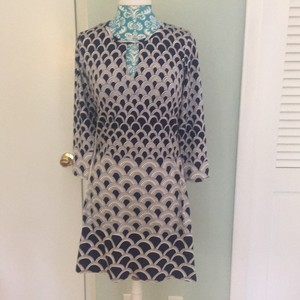 Julie Brown short dress blue and white on Tradesy