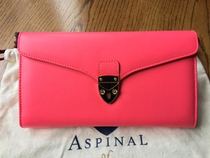 Aspinal of London Pink Clutch