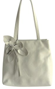 Paolo Masi Leather Bags Medium Leather Bags Tote in White
