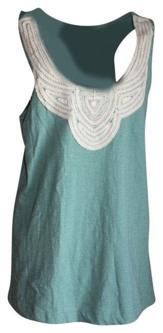 Preload https://img-static.tradesy.com/item/2141094/pins-and-needles-green-ivory-amazing-detail-on-this-blouse-size-8-m-0-0-650-650.jpg