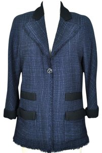 Chanel Navy Blazer