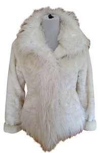 Charlotte Russe Fur White Jacket