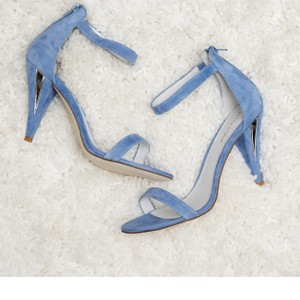 Jeffrey Campbell Pale Blue Fabulous New Something Day Strappy Sandals Size US 7 Regular (M, B)