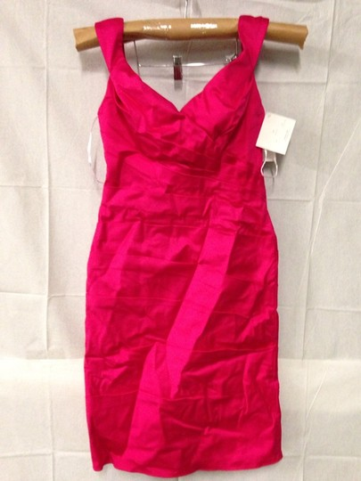 Wtoo Passion Fruit Stretch Cotton Sateen Dress Size 8 (M)