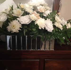 Beautiful Glass Mirrored Vases Great For Head Or Sand Ceremony Quantity 3