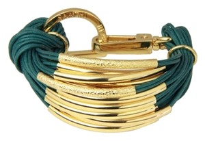 Purchased from Joss and Main Saachi brand new gold leather bracelet