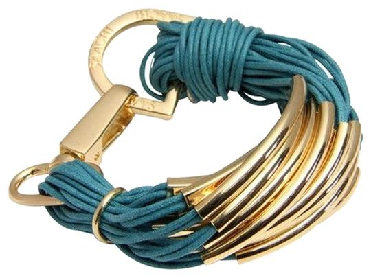 Purchased from Joss and Main Saachi brand new gold leather bracelet Image 1