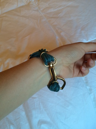 Purchased from Joss and Main Saachi brand new gold leather bracelet Image 5