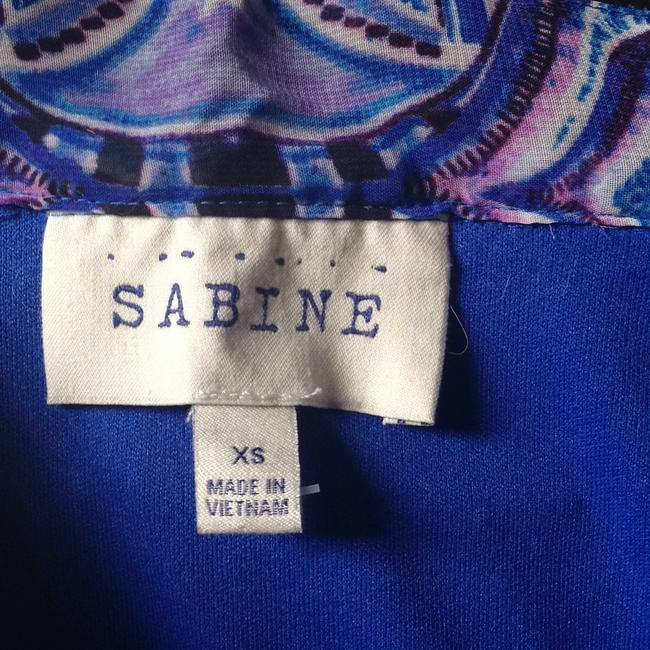 Sabine Maxi Skirt purple blue pink
