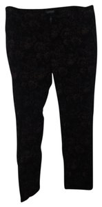 Ralph Lauren Straight Pants Black & Gold