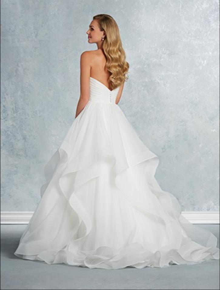 Alfred Angelo Ivory Style 2609 Traditional Wedding Dress ...