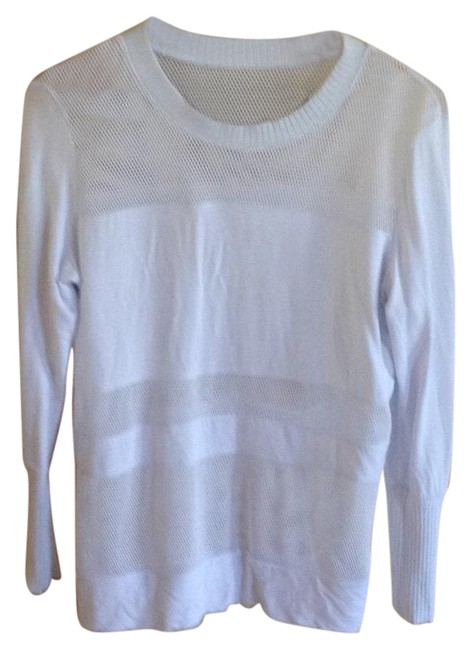 Item - White Netting Activewear Top Size 8 (M)