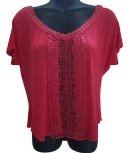 Daytrip Coral Summer Swing Casual Top Pink