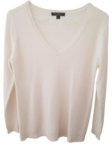 Ann Taylor V-neck 100% Cashmere Cashmere Sweater