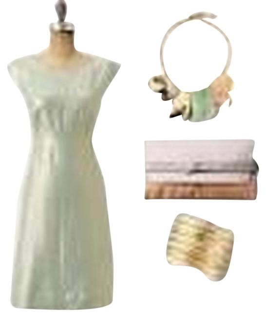 Preload https://item2.tradesy.com/images/anthropologie-dress-greengold-2141216-0-0.jpg?width=400&height=650