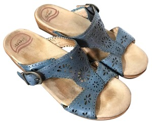 Dansko blue Sandals