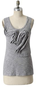 Anthropologie Top Gray