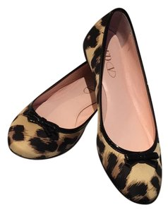 RED Valentino Leopard Flats