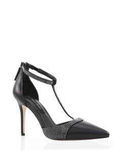 White House | Black Market Black/Silver Pumps
