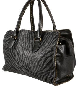 Diane von Furstenberg Satchel in black and grey