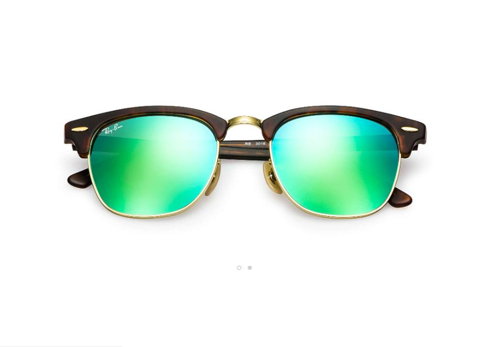 ea70f1af8b7 Ray Ban Clubmaster Flash Lenses Sunglasses