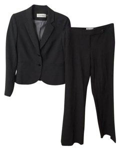 Calvin Klein Charcoal Gray Calvin Klein Pants Suit and Jacket