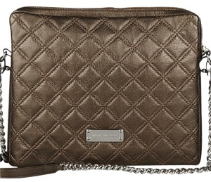 Marc Jacobs Ipad Case Quilted Leather Shoulder Bag