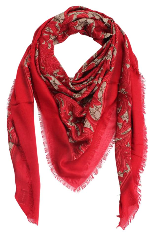 aff25a160 Gucci Only 1 Left - BRAND NEW GG Arabesque print modal silk shawl Image 0  ...