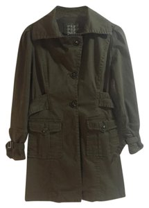 Live A Little Military Pleated Spring Classic Military Jacket