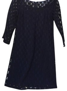 Muse short dress Black & Blue And Lace on Tradesy