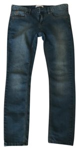Free People Jeans Straight Leg Jeans-Medium Wash