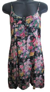 Urban Outfitters Floral Tank Flowy Spring Summer Tunic