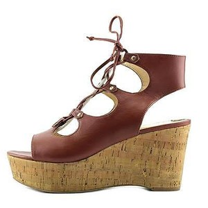 Marc Fisher Chest Nut Brown Wedges