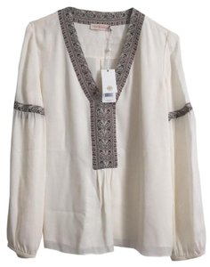 Tory Burch Top Ivory