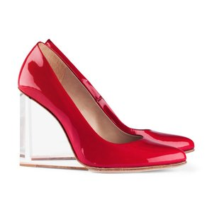 Maison Martin Margiela for H&M Louis Vuitton Louboutin Red Wedges