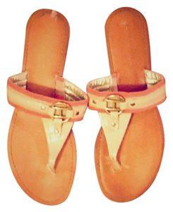 Tommy Hilfiger Coral, Tan, Gold Sandals