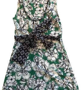 Sweet Pea by Stacy Frati Top Green, black, white