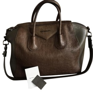 Givenchy Satchel in taupe and brown