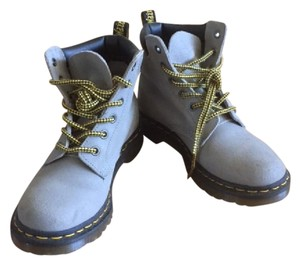 Dr. Martens Suede Grey Well-made Concrete Grey Boots