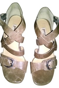 Paul Green Brown Sandals