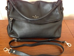 Kate Spade Handbag Little Minke Cobblehill Cross Body Satchel in Black