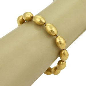 GURHAN 20690 - Cocoon 24k Gold Hand Hammered Beaded Bracelet