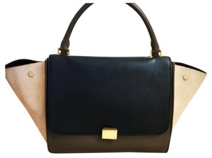 Céline Tote in Multicolor (Black/Tan/Olive)