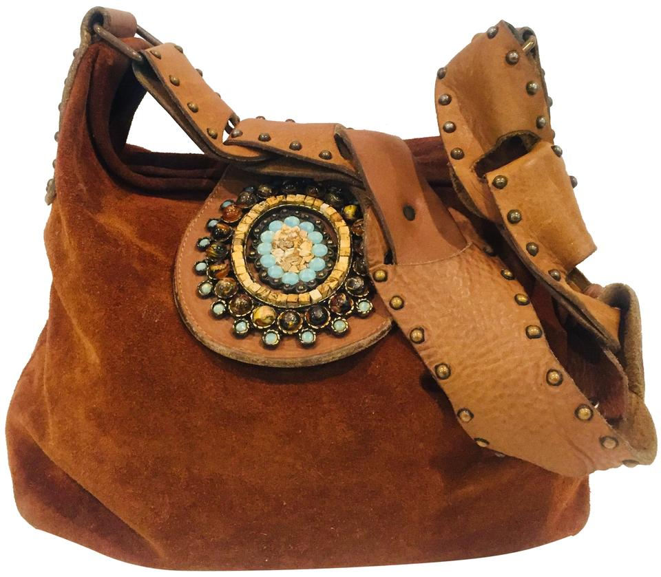 USA Leather Quarry Brown Suede Hobo Bag - Tradesy cff1622a798bc