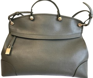 Furla Satchel in Olive Green