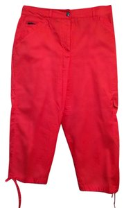 Chico's Red Capris Coral