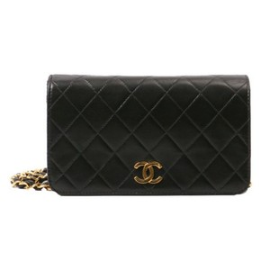 Chanel Vintage Lambskin Quilted Shoulder Bag