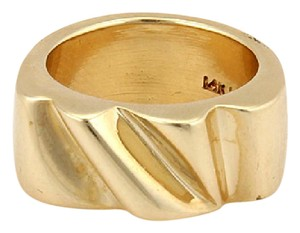 Barry Kieselstein-Cord 13484 - Vintage Keiselstein Cord 14k Yellow Gold Wave Ring